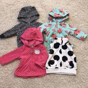 Other - Baby Girl Fleece Jackets